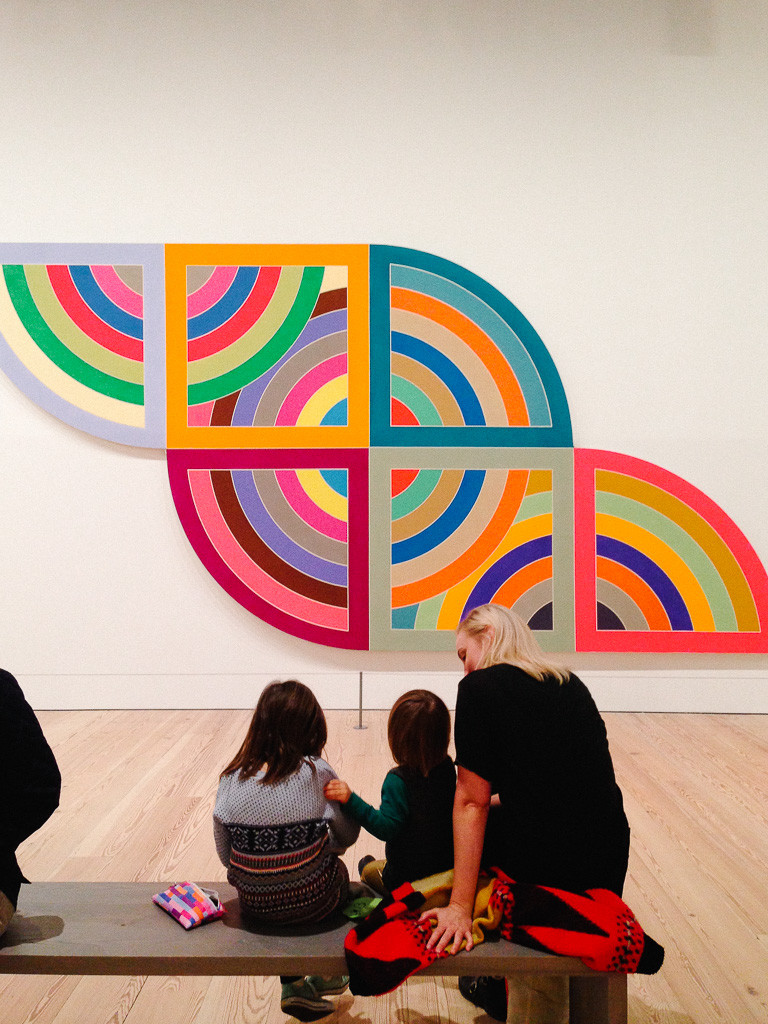 frank stella @ the whitney // a weekend in nyc
